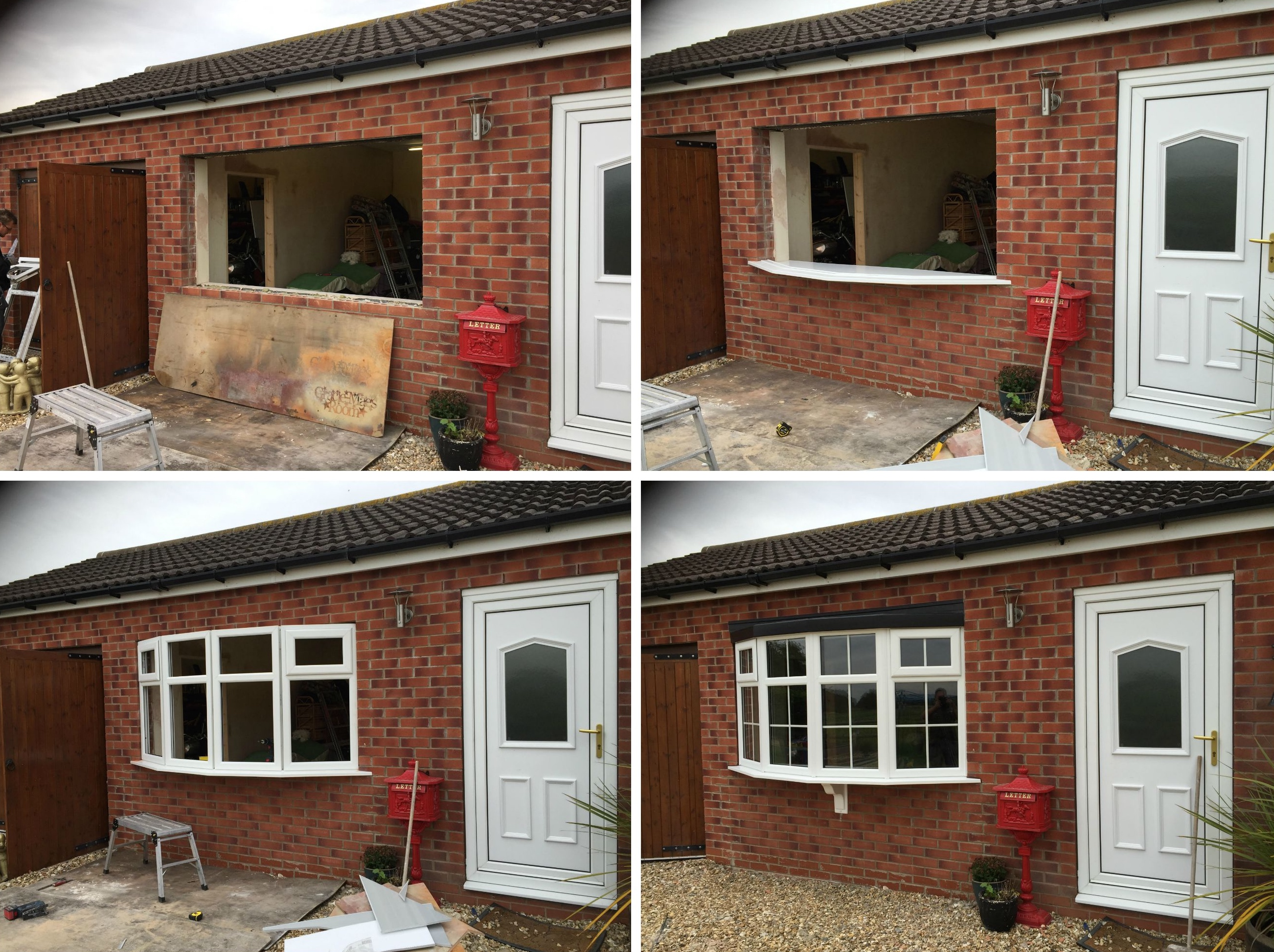 Bow window installation decra doors best free home for Bow window installation