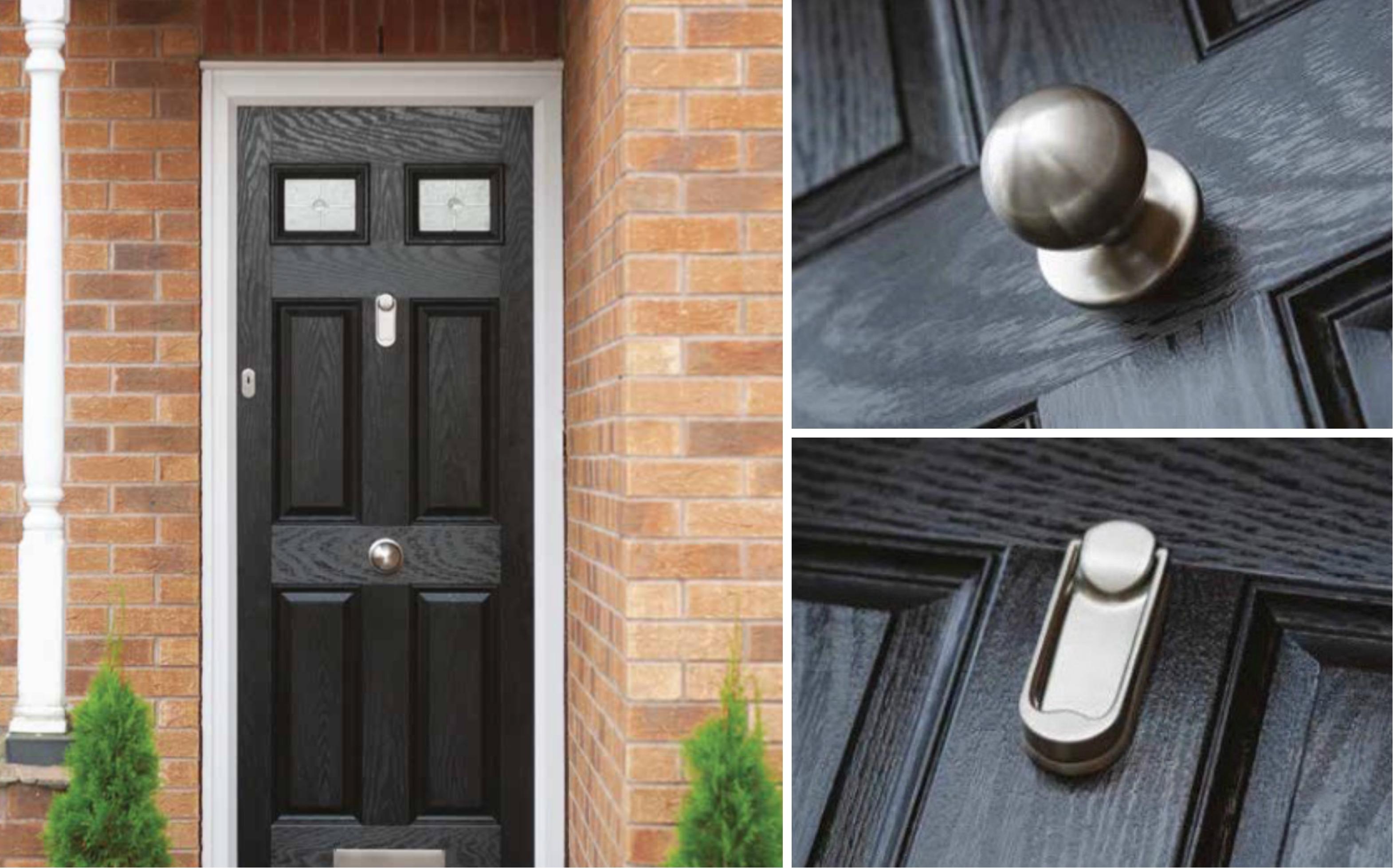 4 Panel 2 Square Composite Doors & 4 Panel 2 Square Composite Doors | Decra Doors Doncaster