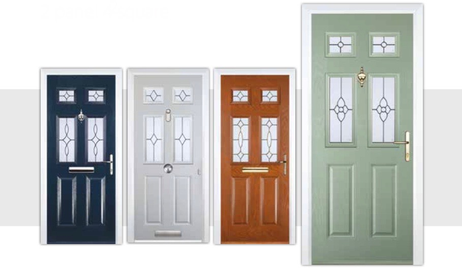 2 panel 4 square composite doors decra doors doncaster for Door 2 door doncaster