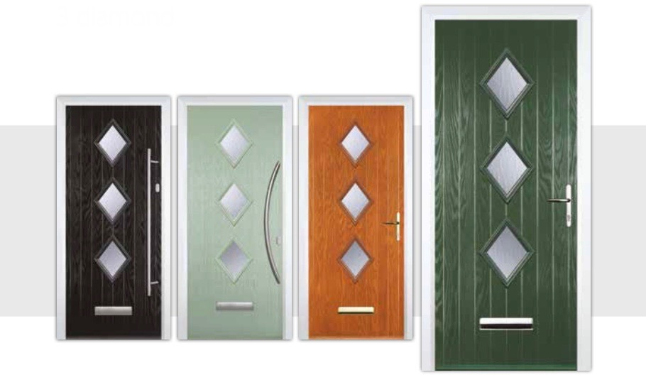 You\u0027ll find the latest technology and design in the Decra Doors composite doors. When you\u0027re indoors you\u0027ll enjoy loads of style strength and security.  sc 1 st  Decra Doors & 3 Diamond Composite Doors | Decra Doors Doncaster
