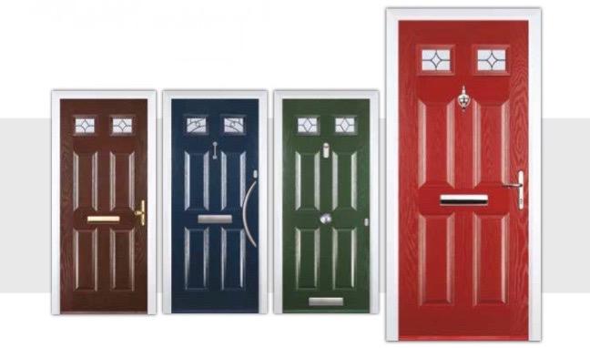 4 panel 2 square composite doors decra doors doncaster for Door 2 door doncaster