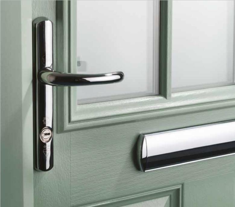 Decra doors the customer wanted to get rid of the white for Door 2 door doncaster