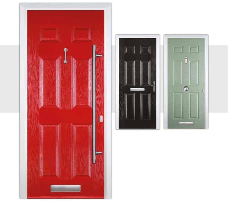 6 Panel Composite Doors Decra Doors Doncaster