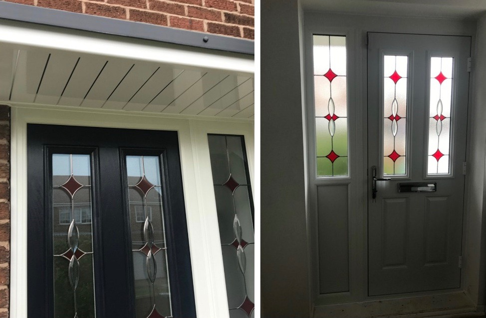 New door and canopy decra doors doncaster for Door 2 door doncaster